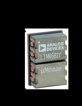Импульсный преобразователь в формате микромодуля от Analog Devices