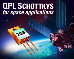 Новые выпрямительные диоды Шоттки от IR для космических применений