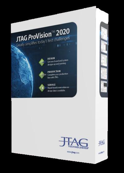 JTAG ProVision 2020 — новая версия ПО для разработки тестов периферийного сканирования