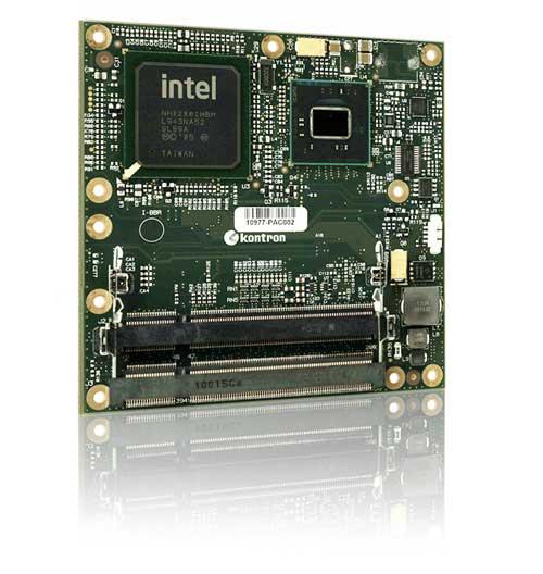 Kontron выпускает microETXexpress-PV с двухъядерным Intel Atom