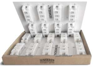 Первая герметичная вакуумная упаковка для транспортировки силовых модулей