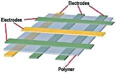 Структура полимерного сегнетоэлектрического ЗУ